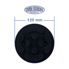 Support rubbers for two post lifts - TW G-D12cm
