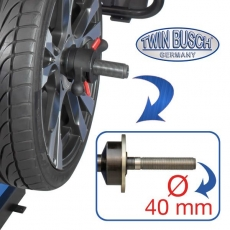 Quick release nut 40mm