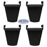 Plastic claw protection (short) set of 4